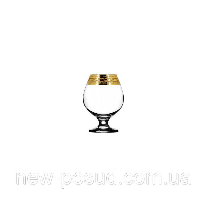 Набор бокалов для коньяка 400 мл 6 шт Гусь хрустальный Версаче EAV08-188