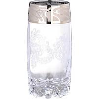 Набір стаканів 6 шт 390 мл Гусак кришталевий Мускат GE05-812