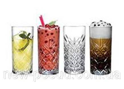 Набір склянок 295 мл 4 предмета Timeless Pasabahce 52820