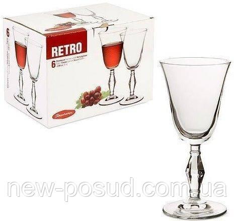 Набор бокалов 236 мл 6 предметов Retro Pasabahce 440060