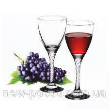 Набір келихів для червоного вина 205 мл 6 предметів Twist Pasabahce 44372