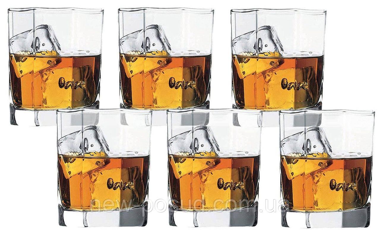 Набір склянок для віскі 300 мл 6 предметів Kosem Pasabahce 42083