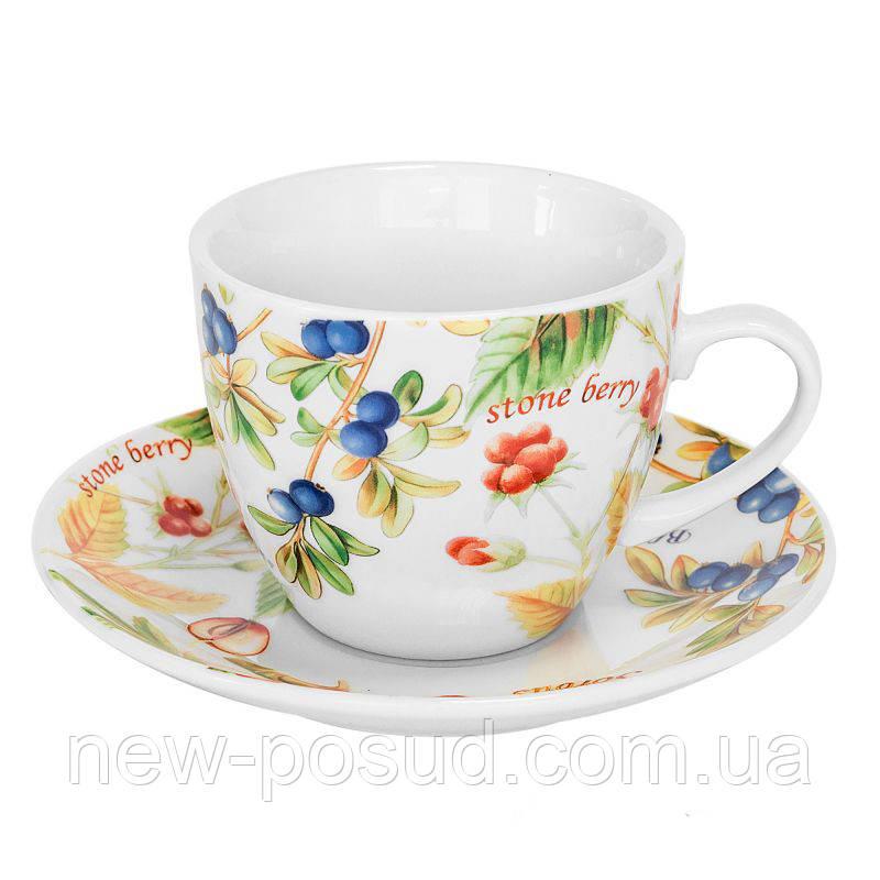 Чайна пара Keramia Лісові ягоди 200 мл K24-198-045/1