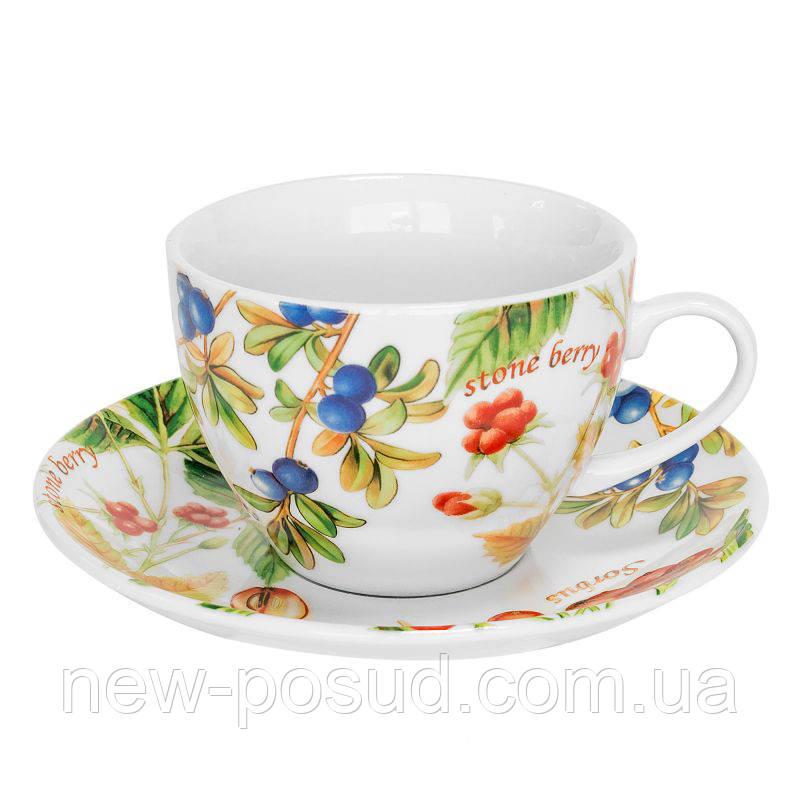 Чайна пара Keramia Лісові ягоди 250 мл K24-198-046/1