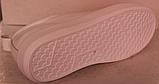 Белые кроссовки женские кожаные от производителя модель РИ034, фото 6