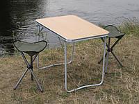 """Купить туристический стол со стульями """"На природе О1+2"""" (Стол складной в чехле и 2 складных стула в чехле)"""