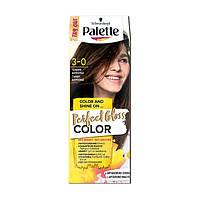 Безаммиачная краска для волос Palette Perfect Gloss Color 3-0 ТЕМНЫЙ ШОКОЛАД