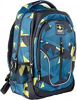 Рюкзак школьный TN-07 ʺGlobalʺ Smart 558631 Черно-бирюзовый, фото 1