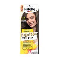 Безаммиачная краска для волос Palette Perfect Gloss Color 5-0 КАШТАНОВЫЙ