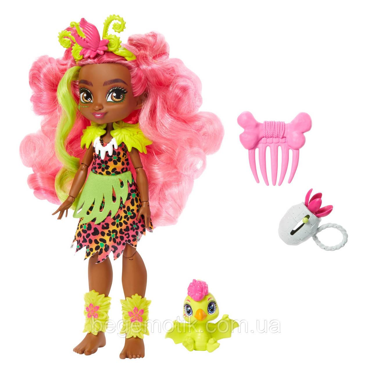 Cave Club Кукла Фернесса и питомец птеродактиль Птилли Пещерный клуб Cave Club Fernessa Doll