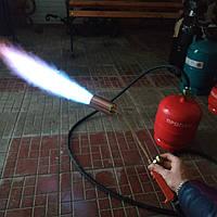 Газовая горелка для смоления свиней, кур , длина шланга под заказ на фото 3метра ,диаметр сопла 50мм