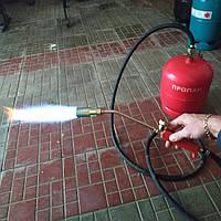 Газовая горелка для смоления кур, длина шланга под заказ на фото 2метра диаметр сопла 30мм