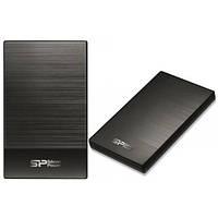 Внешний жесткий диск PHD External 2.5'' SiliconPower USB 3.0 Diamond D05 500Gb Iron Gray