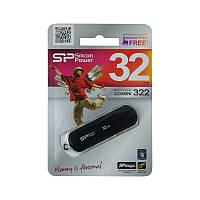 Флеш накопитель USB 2.0 SiliconPower LuxMini 322 32Gb Black