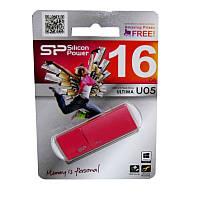 Флеш накопитель USB 2.0 SiliconPower Ultima U05 16Gb Peach