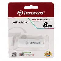 Флеш накопитель USB 2.0 Transcend JetFlash 370 8Gb White