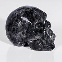 Статуэтка череп из обсидиана слезы Апачей, 645ФГО, фото 1