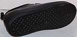 Черные кроссовки женские кожаные от производителя модель РИ034-1, фото 5