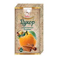 Сахар с цедрой апельсина и корицей, Добрик