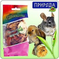 """Десерт для грызунов Природа Фиеста """"Яблочко"""", микс, 40 г"""