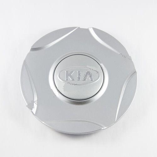 Ковпачок для диска KIA срібло / хром лого (138 мм)