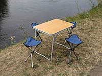 """Купить складной стол со стульями для пикника """"На природе О1+4"""" (раскладной стол и 4 раскладных стула в чехлах)"""