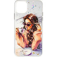 Чехол Girls Case New №2 для iPhone 11 pro (айфон 11 про), фото 1