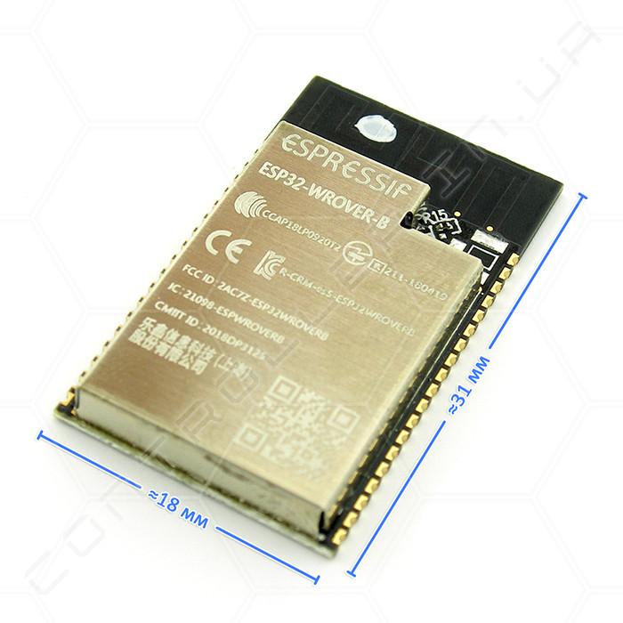Модуль ESP32-WROVER-B Wi-Fi Bluetooth