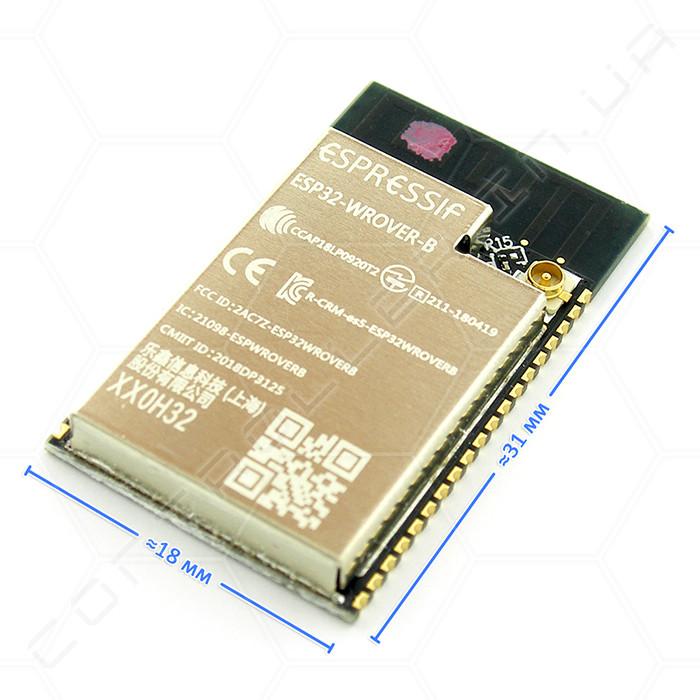 Модуль ESP32-WROVER-IB Wi-Fi Bluetooth