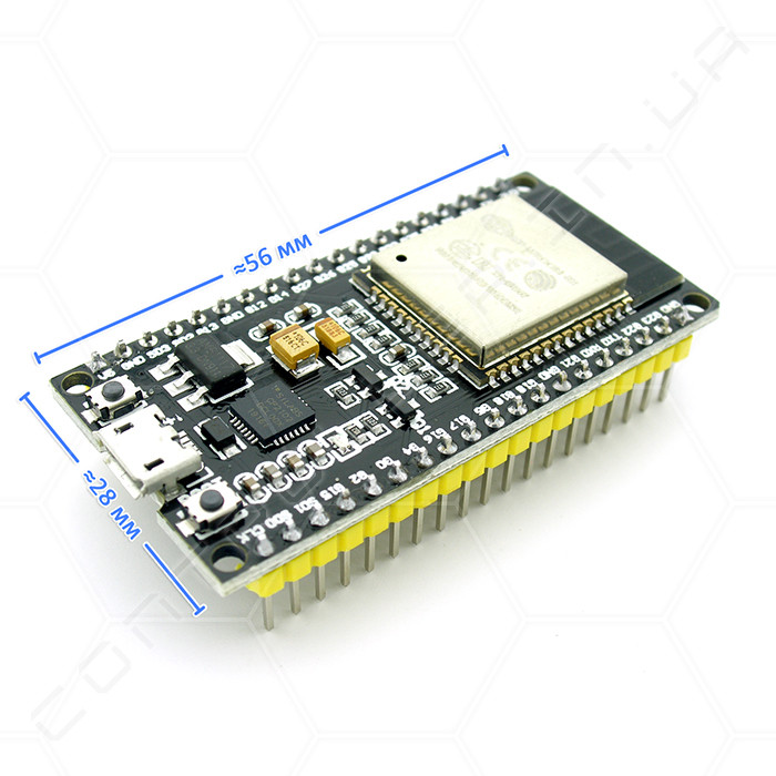 Модуль ESP32 WROOM DevKit v1 38 Pin