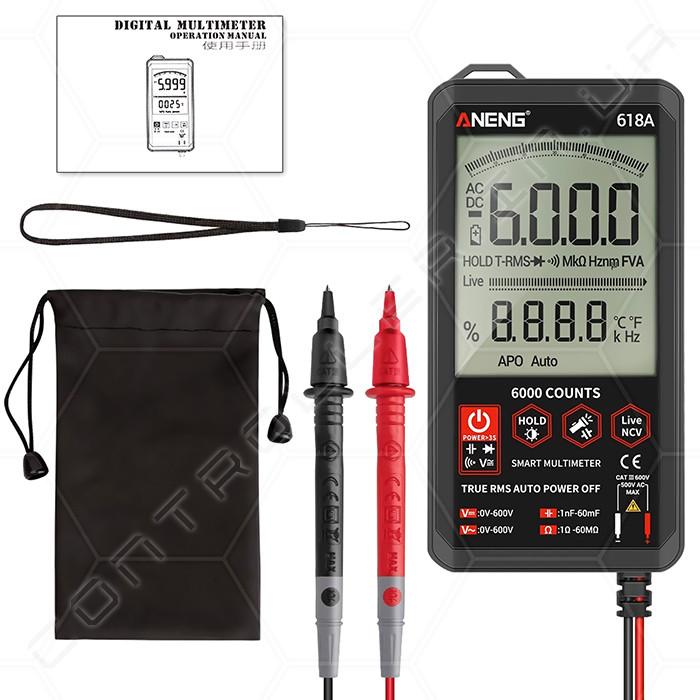 Мультиметр ANENG 618A ультрапортативный цифровой