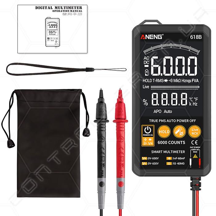 Мультиметр ANENG 618B ультрапортативний цифровий