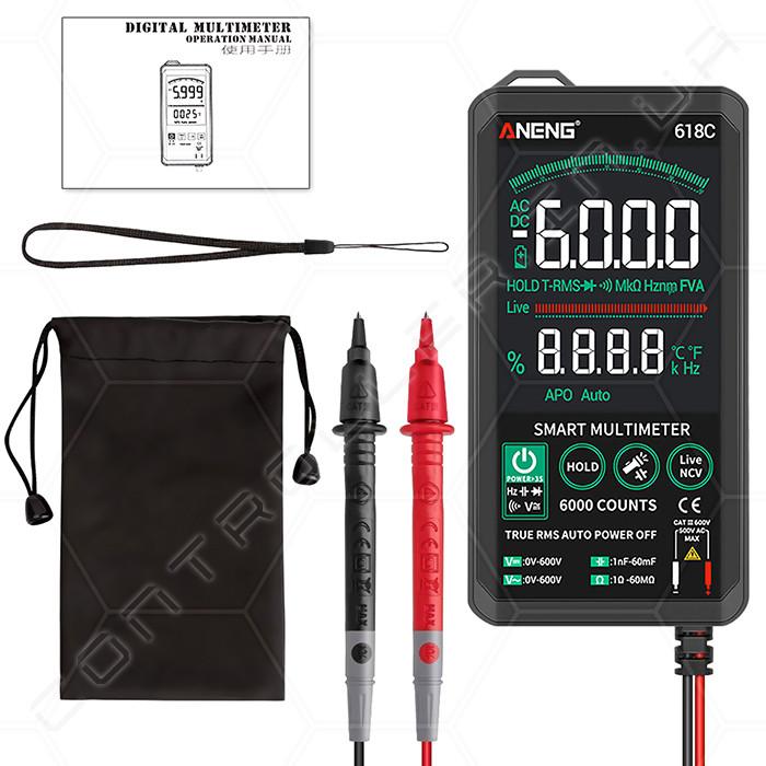 Мультиметр ANENG 618C ультрапортативный цифровой