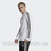 Мужской лонгслив адидас 3-Stripes ED5959 (2020/2), фото 3