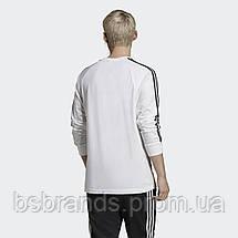 Мужской лонгслив адидас 3-Stripes ED5959 (2020/2), фото 2