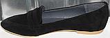 Балетки замшевые женские от производителя модель РИ815-2, фото 3