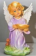 Статуэтка Ангел с чашей верх, цветной, 33 см