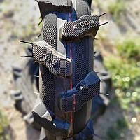Покрышка с камерой на мотоблок 4.00-8 елочка