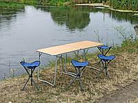 """Набор складной мебели для пикника """"На природе О2+4"""" (2 стола в чехлах и 4 стула в чехлах)"""