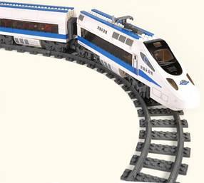 Конструктор Пассажирский скоростной поезд с мотором 98227
