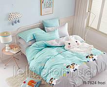 Детский полуторный комплект постельного белья с компаньоном R7624 frozi
