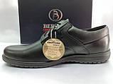 Осенние комфортные кожаные туфли Bertoni, фото 2