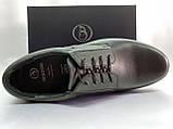 Осенние комфортные кожаные туфли Bertoni, фото 3