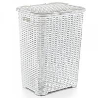 Корзина для белья Dunya Rattan 05006-100 Белый
