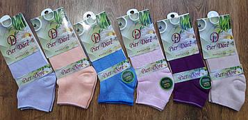 """Жіночі бамбукові шкарпетки """"Pier Dore"""", Туреччина 35-38"""
