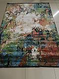 Разноцветный шелковый ковер высокой плотности, премиум качество, фото 3