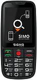 Мобильный телефон Sigma mobile Comfort 50 Elegance3 Black, фото 3