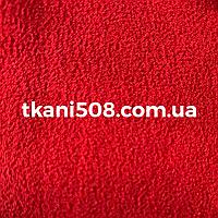 Креп-шифон однотонный Красный