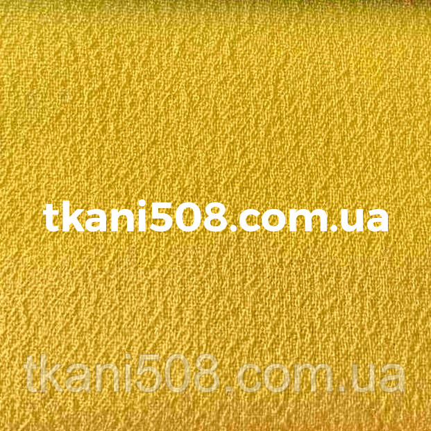 Креп шифон Жовтий
