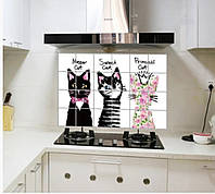 Термостойкая наклейка на кухню